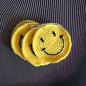 Happy Face Coasters